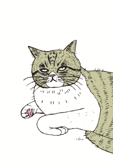 手ぐにゃり猫
