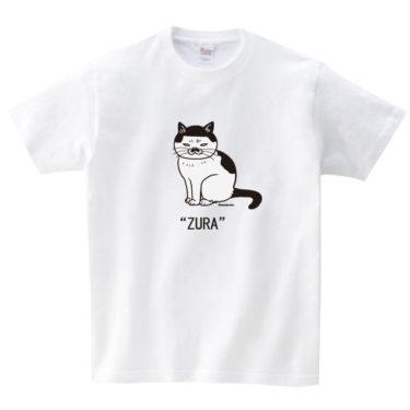 ヅラ猫 Tシャツ