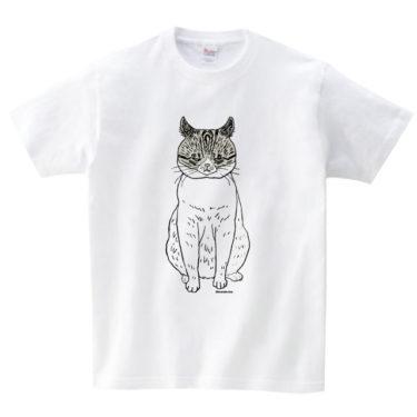イカ耳猫 Tシャツ