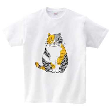 シマ三毛 Tシャツ
