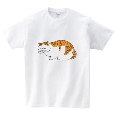茶トラ丸 Tシャツ